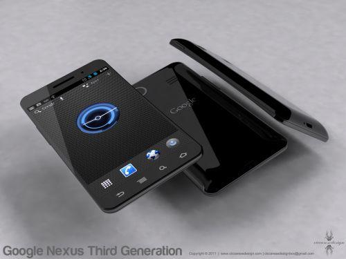 Google Nexus 3 ar putea arăta așa... iată un design Android 4.0!