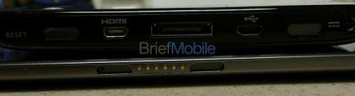 Google Nexus 10 filmat pentru câteva secunde, o tabletă Samsung glossy și rotunjită (Video)