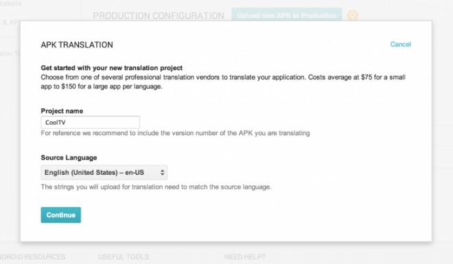 Google lansează un serviciu de traducere a aplicațiilor, acum dezvoltatorii pot cumpăra traduceri de la specialiști third party