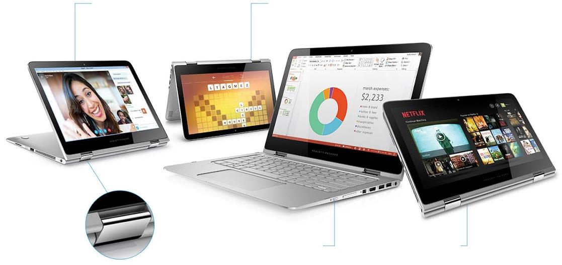 CES 2016: HP anunţă laptopul convertibil Spectre x360 în varianta cu ecran 4K, în vreme ce modelul de 13.3 inch primeşte o versiune cu ecran OLED