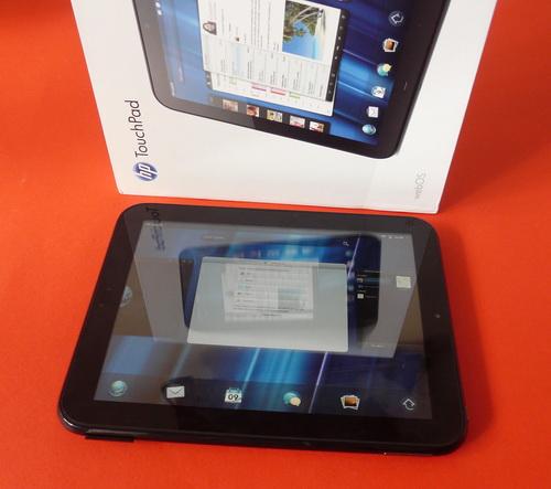 HP TouchPad scos din cutie
