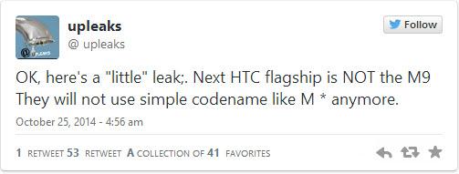 Următorul flagship HTC nu se numi One M9, HTC va schimba modul de numire a smartphone-urilor sale