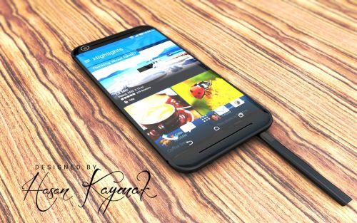 HTC One M10 XL este un concept de phablet ce aduce stylusul în ecuaţia HTC