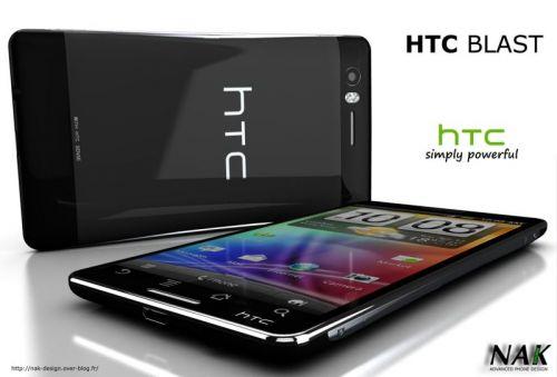 HTC Blast, un telefon dual core cu procesor de 1.5 GHz și Android 3.0 Honeycomb la bord
