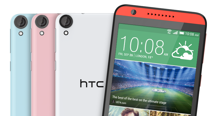 HTC Desire 820 anunțat oficial