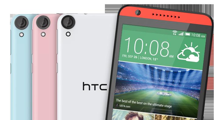 HTC Desire 820 anunțat oficial