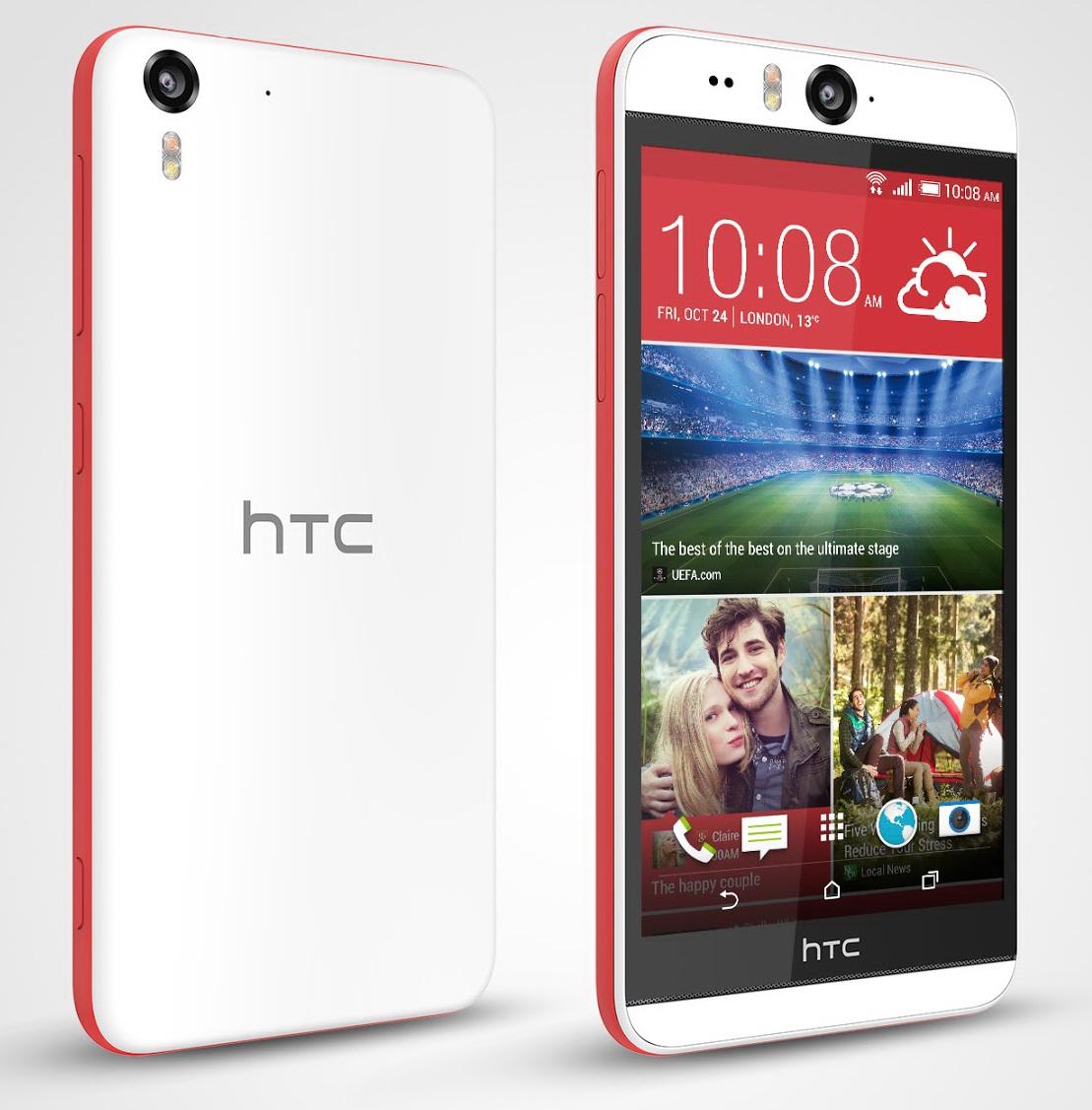 HTC anunță oficial telefonul Desire Eye, cu cameră selfie de 13 megapixeli și blitz dual LED frontal