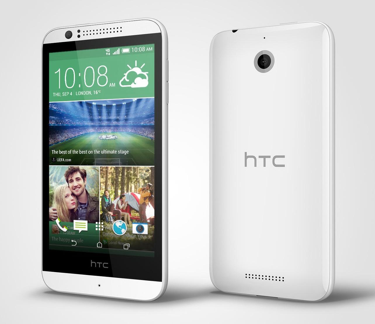 HTC Desire 510 anunțat oficial, vine cu suport 4G LTE și procesor 64 bit