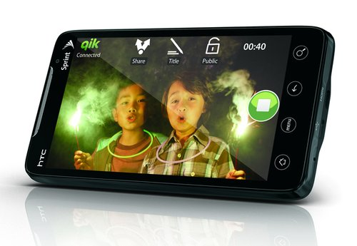 HTC EVO 4G, telefonul WiMAX Supersonic anuntat oficial de Sprint