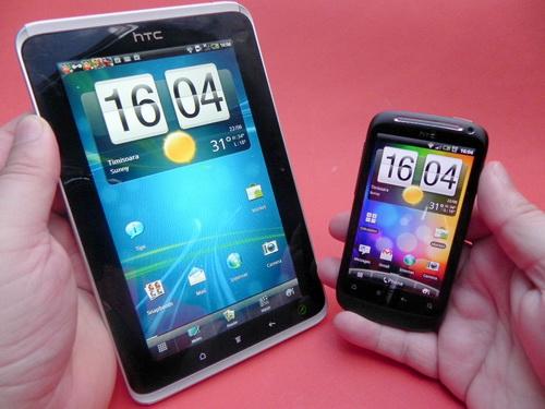 HTC Flyer si HTC Desire S