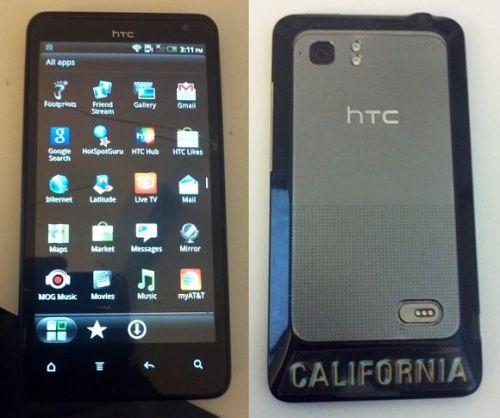 Prototipul lui HTC Holiday, telefon cu ecran (spart) de 4.5 inchi surprins În imagini