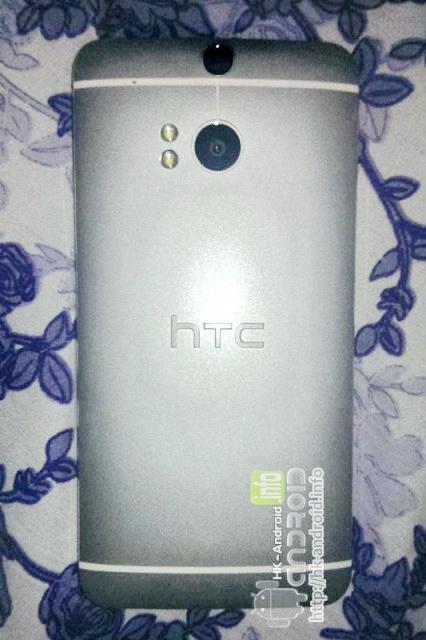 HTC M8 partea spate