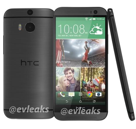 HTC M8 apare În noi imagini; de această dată În varianta de culoare argintie și gri