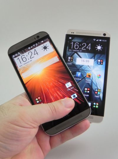 HTC One 2013 versus HTC One M8
