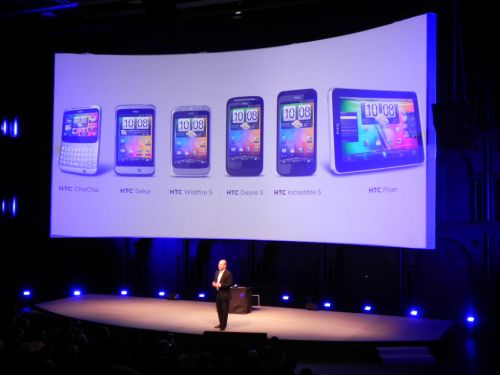 Telefoane HTC lansate la MWC 2011