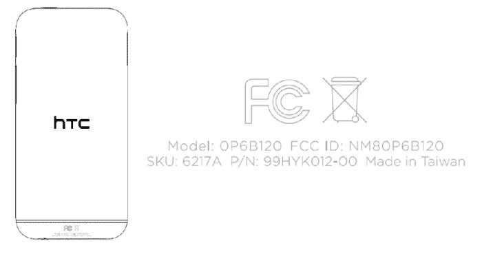 HTC M8 FCC