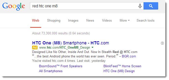 HTC One M8 va primi și o versiune de culoare roșie și neagră, conform unor indicii noi