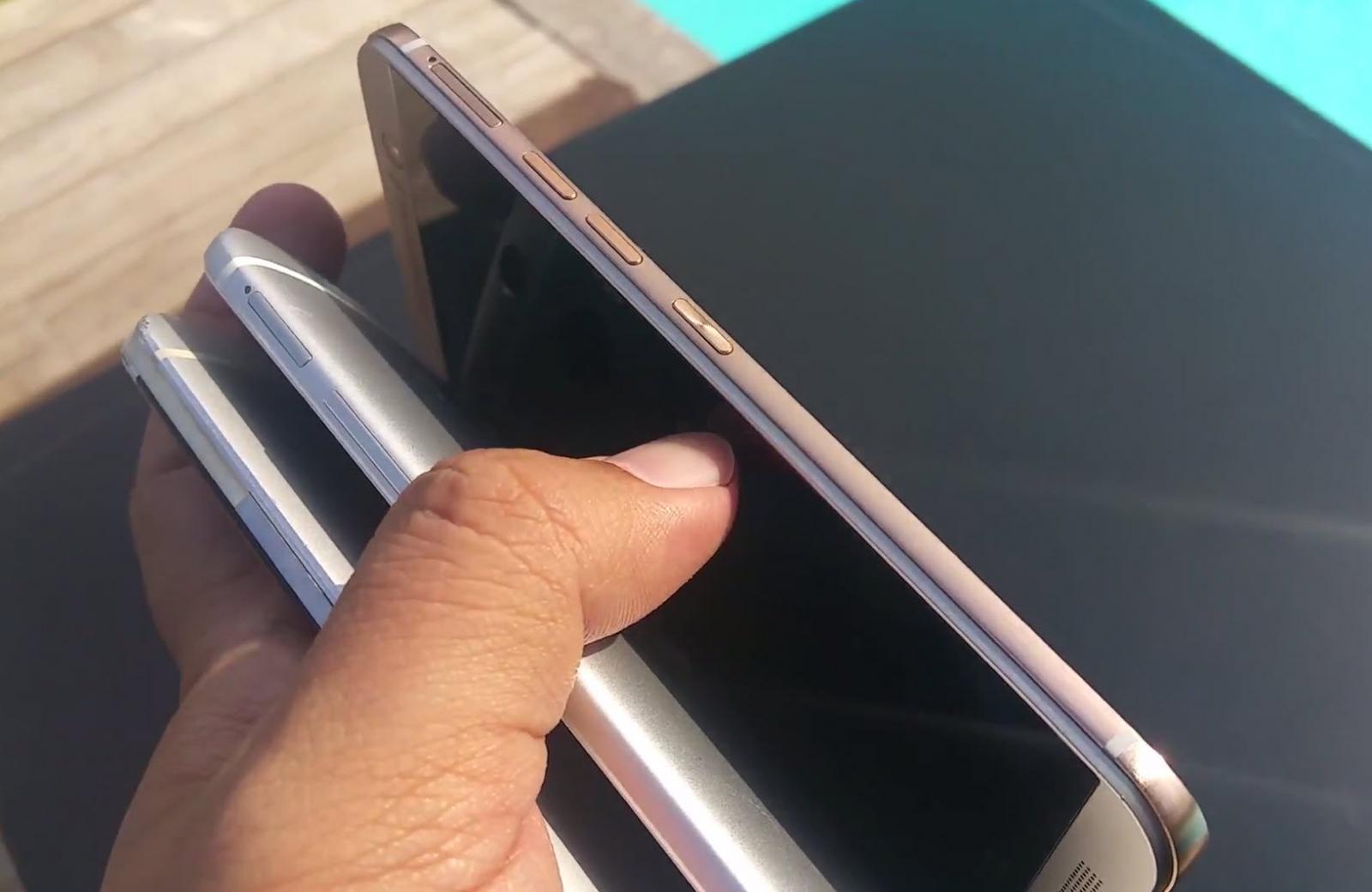 HTC One M9 comparat cu One M8 şi M7 într-un hands on video rapid (Video)