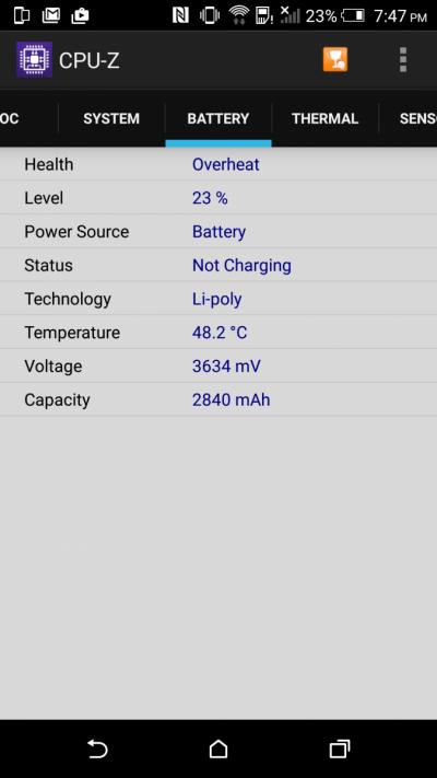 HTC One M9 se supraincalzeste