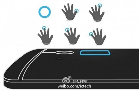 Scannerul de amprente de pe HTC One Max explicat Într-o nouă imagine