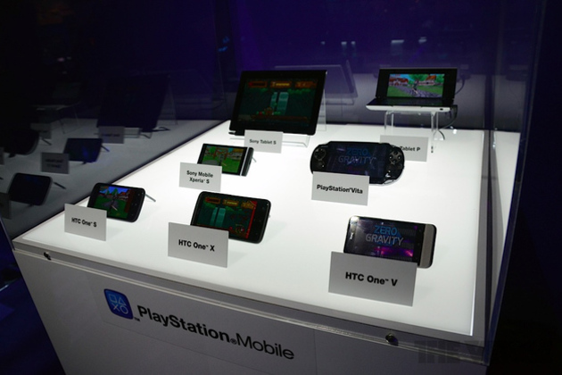 htc one playstation mobile e3 Sony cuts publishing fee for PlayStation Mobile