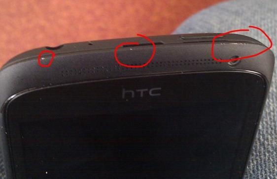 Carcasa de ceramica a telefoanelor HTC One are probleme - zgarieturi si ciobituri