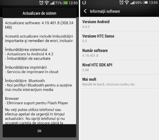 HTC One primește actualizarea la Android 4.4.2 KitKat chiar În aceste momente; Update confirmat În România