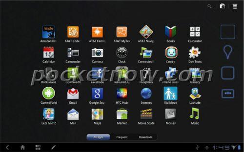 Tableta HTC Puccini cu diagonală de 10 inchi, acum cu mai multe detalii