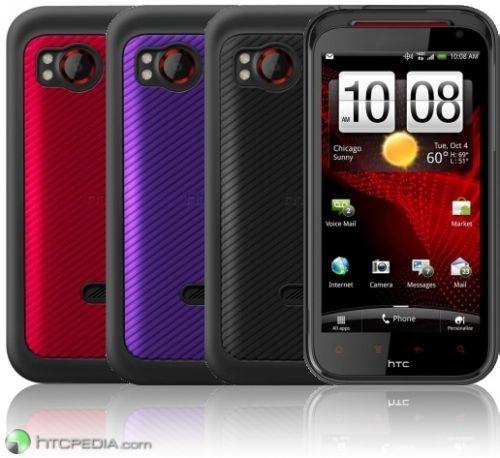 HTC Rezound are acum și câteva carcase speciale - iată cum arată primul smartphone HTC cu ecran HD