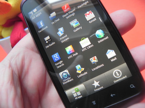 HTC Rhyme, display