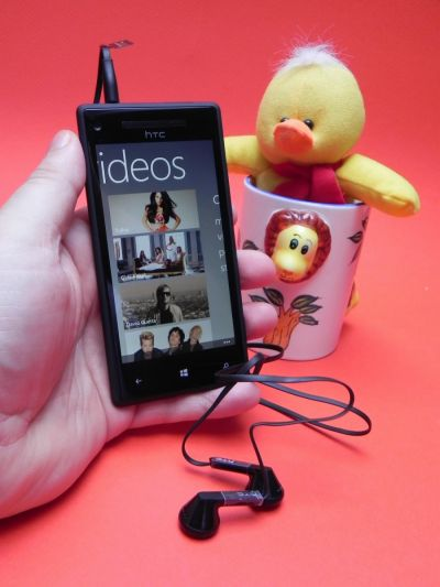 HTC Windows Phone 8X - casti