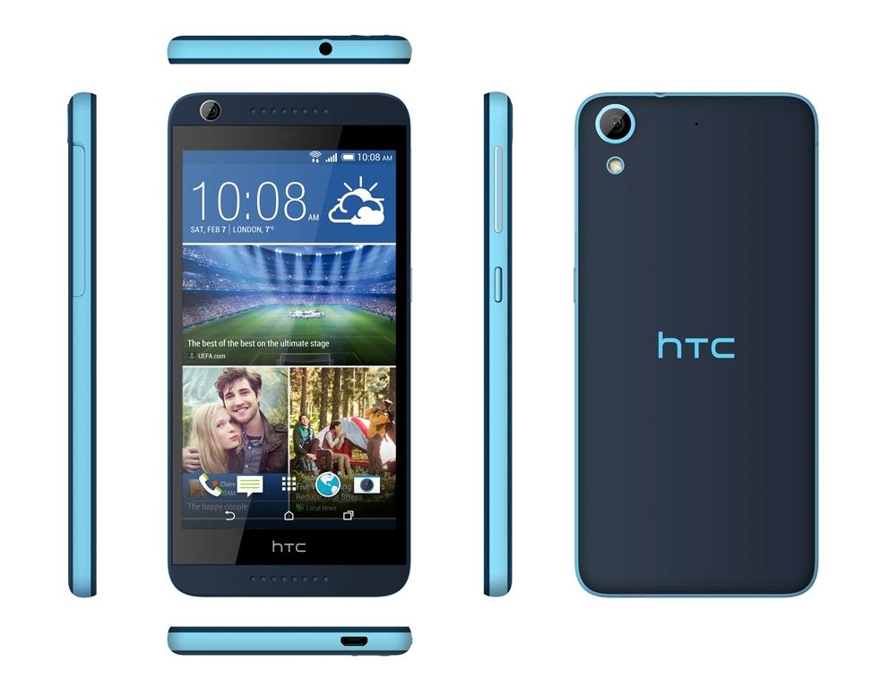 HTC anunţă lansarea smartphone-ului Desire 626, urmaşul lui Desire 620