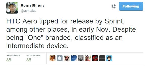 HTC Butterfly 3 în versiunea internațională ar putea fi lansat pe 29 septembrie, urmat de modelul mid-range One A9/Aero o lună mai târziu