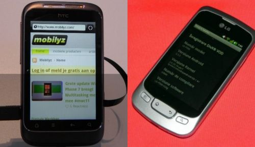 HTC Wildfire S vs LG Optimus Black