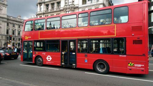 Autobus supraetajat, Londra