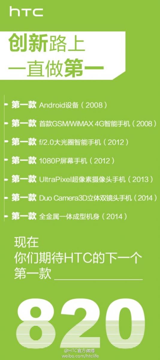 Qualcomm confirmă că HTC va lansa primul telefon Android cu procesor Snapdragon 615 (64 bit); Iată cum arată HTC Desire 820!