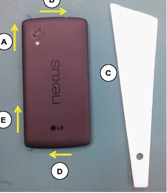 Iată și manualul următorului telefon Nexus; Handsetul vine cu 32 GB memorie internă, camera de 8 MP