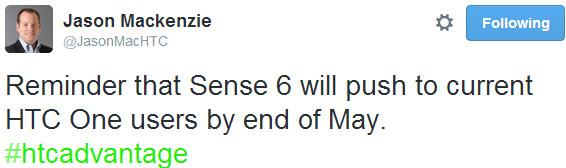 HTC Sense 6.0 va sosi pe HTC One până la finalul lunii mai, conform șefului HTC America