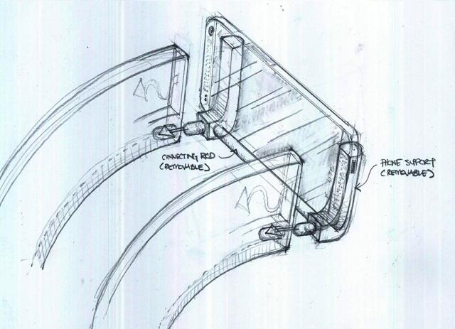 HTC Își scoate acustica În evidență cu două mega difuzoare trompetă: Gramohorn II