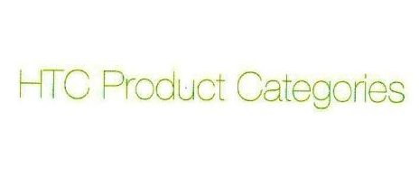 HTC Product Categories