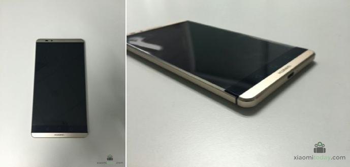Huawei Mate 7 Plus / Mate 8 apare în noi fotografii ce dezvăluie o nouă amplasare pentru senzorul de amprente