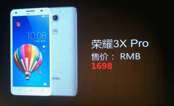 Huawei Honor 3X Pro