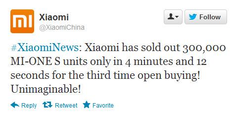 Xiaomi Mi One S dă lovitura cu 300.000 de modele vândute În 4 minute!