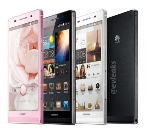 Huawei Ascend P6 - diferite culori