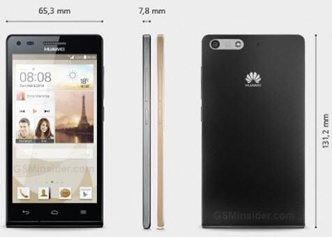 Huawei Ascend P7 Mini ajunge pe web; aceasta vine cu display de 4.5 inch și procesor quad-core Snapdragon 400