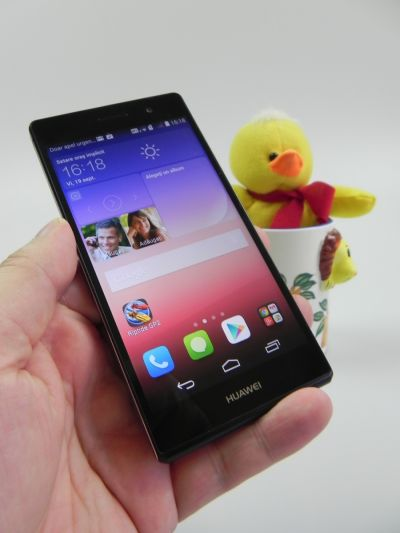 Display-ul lui Huawei Ascend P7