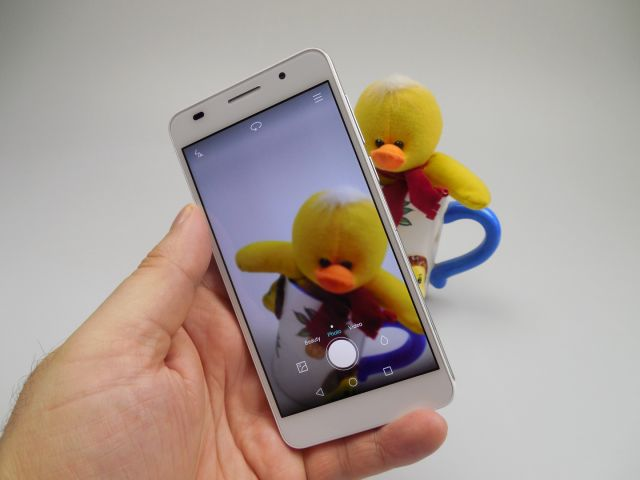Interfata camerei lui Huawei Honor 6