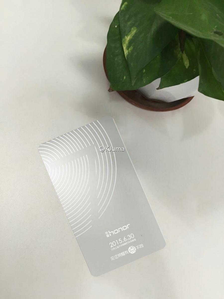 Invitatie pentru presa Huawei Honor 7