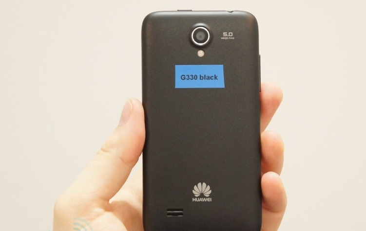 IFA Berlin 2012: Huawei Ascend G330, entry-level cu specificații bune și preț imbatabil