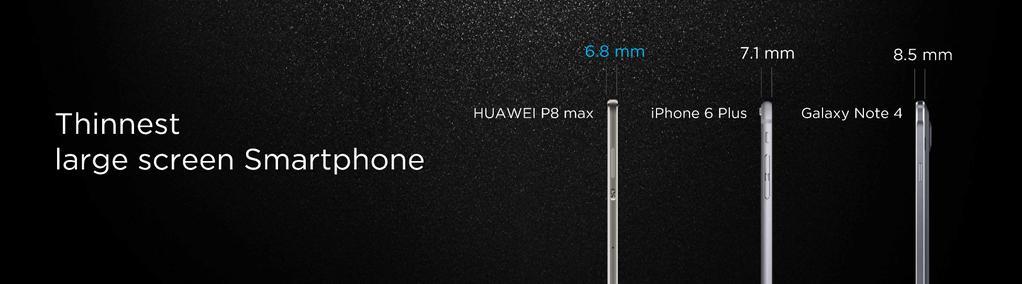 Huawei P8 anunţat oficial, flagshipul costă 499 euro; Huawei anunţa şi phabletul atractiv P8 Max şi telefonul P8 Lite